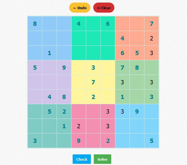 Sudoku Game Written Using Reactjs Reactjs Examples