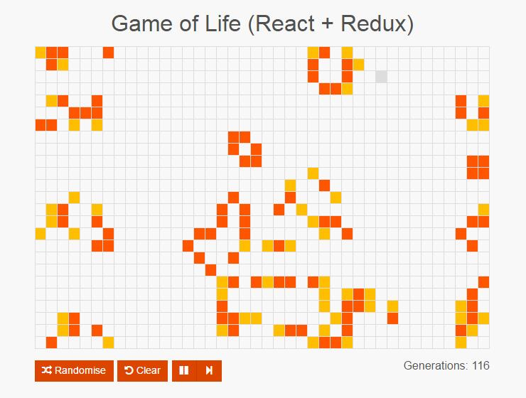 Game of Life in React and Redux