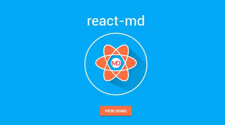 React Material Design - React components built with sass