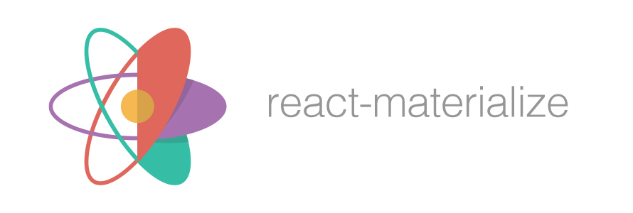 react materialize : Material design components for react