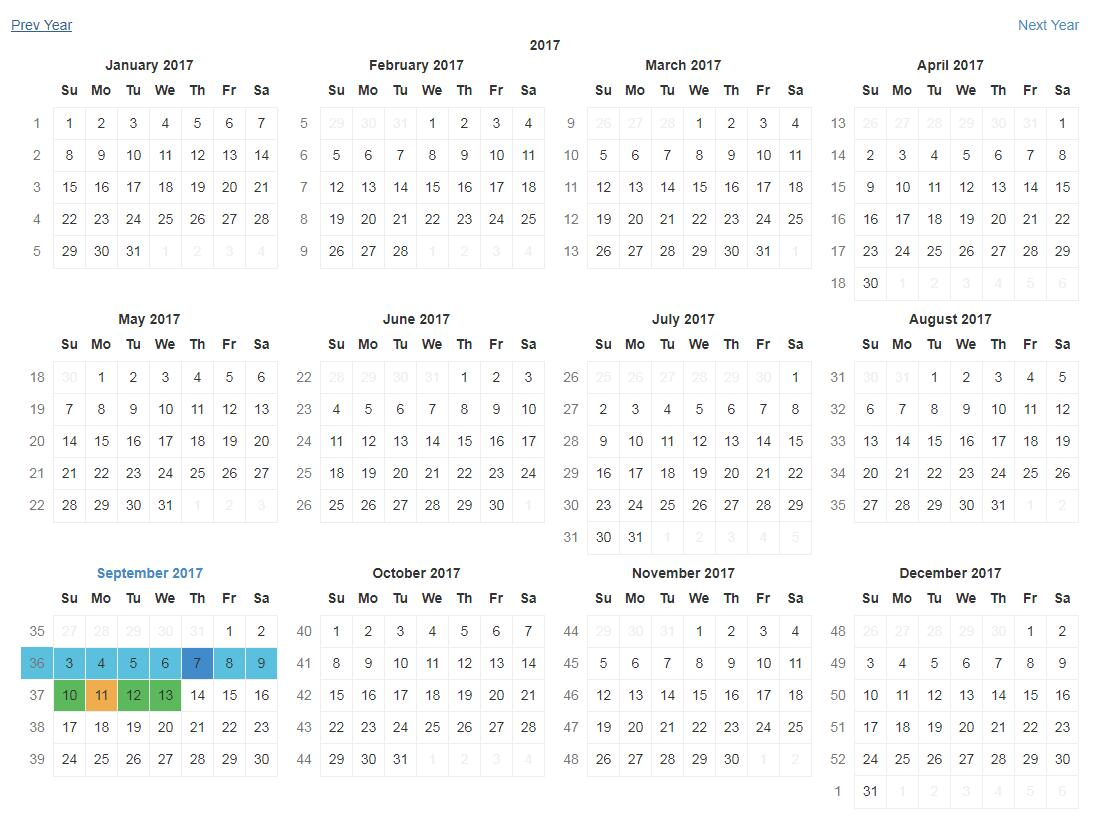 A modular toolkit to build calendar-related things in React