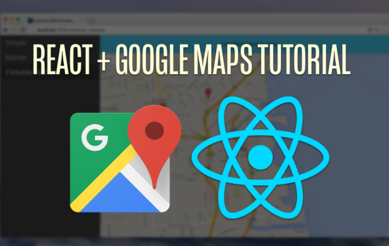 A React component that uses the Google Maps API
