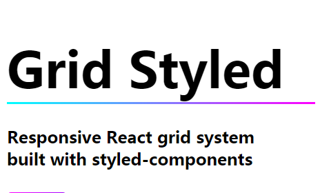 Responsive React grid system built with styled-components-Codespots com