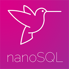 High Order Component for using nanoSQL with React