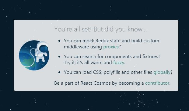 CLI for running React Cosmos inside webpack-powered apps