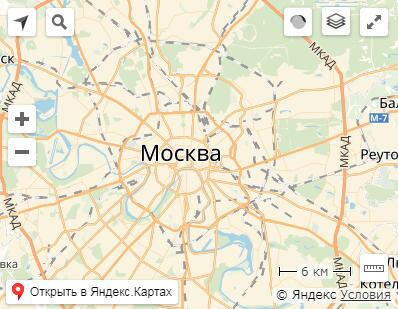 Yandex Maps API bindings for React