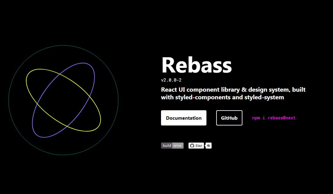 React UI component library & design system