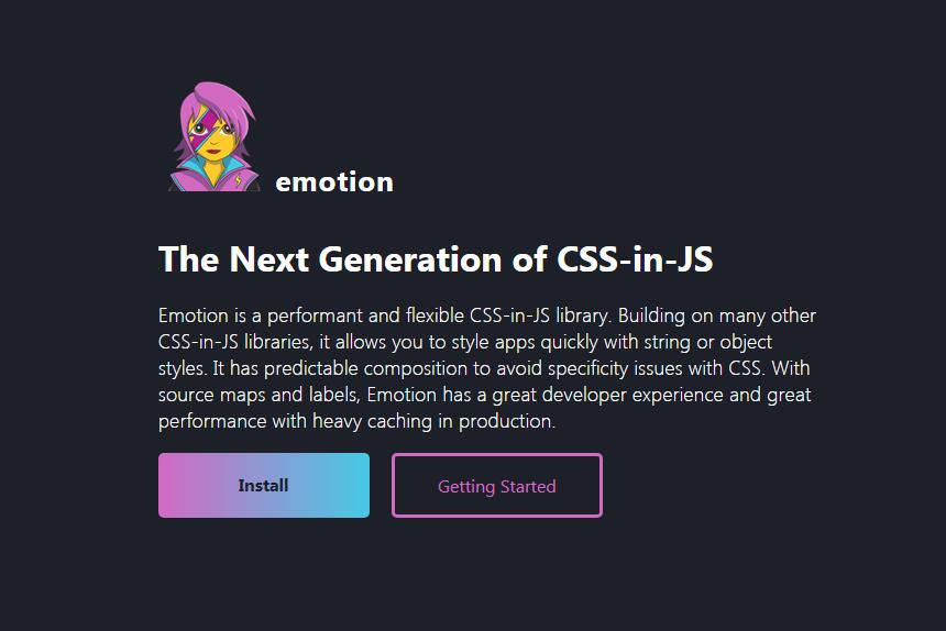 A performant and flexible CSS-in-JS library