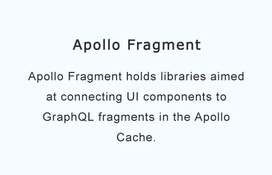 Use Apollo Link State to connect components to GraphQL fragments in the Apollo Cache