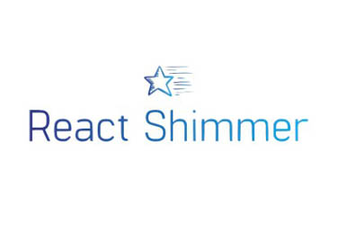 React img component that simulates a shimmer effect stars while loading