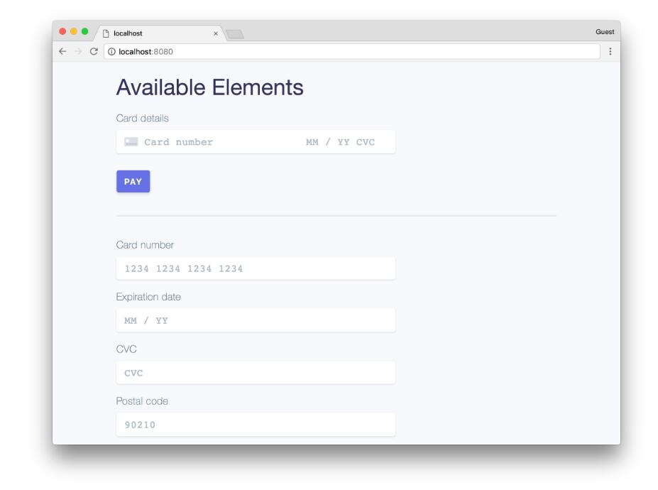 React components for Stripe js and Stripe Elements
