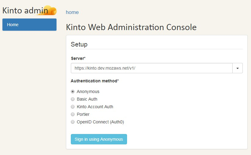 A Web admin UI to manage data from a Kinto server