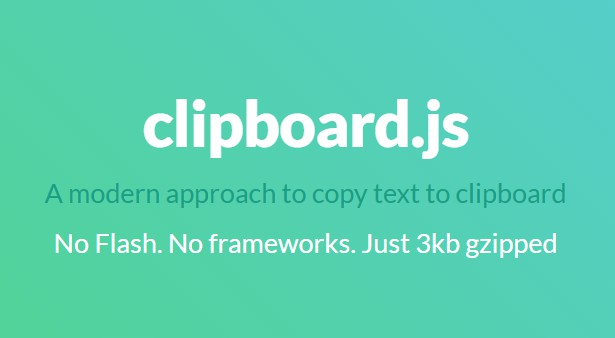 React wrapper for clipboard.js