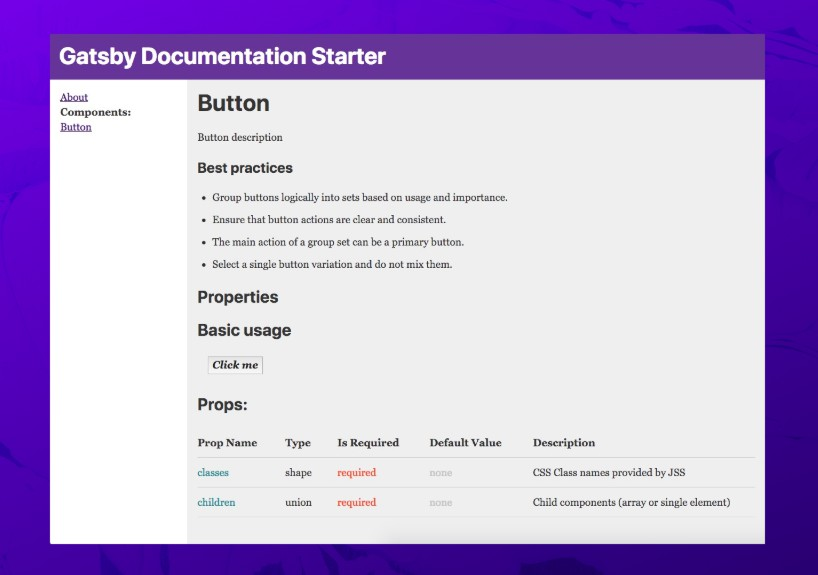 Automatically generate documentation for your project using MDX