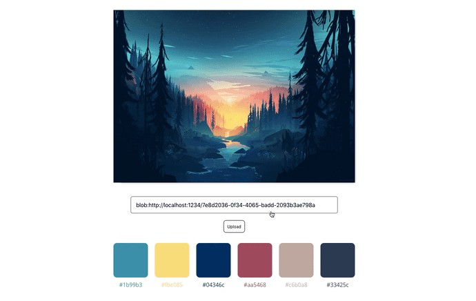 A React component which extracts colors from an image