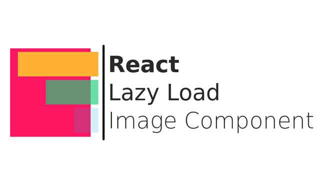 React Component to lazy load images and other elements