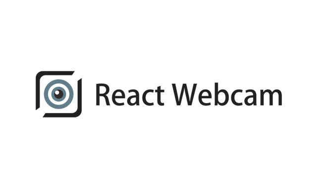 Webcam component for React