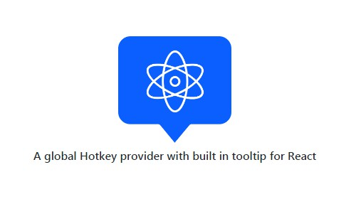 A global Hotkey provider with built in tooltip for React