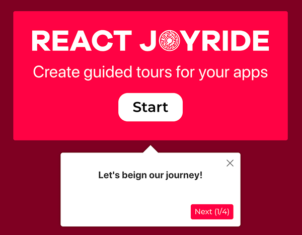Create guided tours in your apps