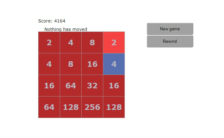 2048 game with react.js