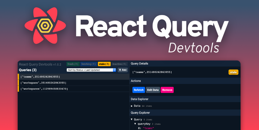 Devtools for React Query