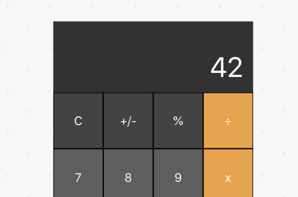 Clone of macOS calculator built with react