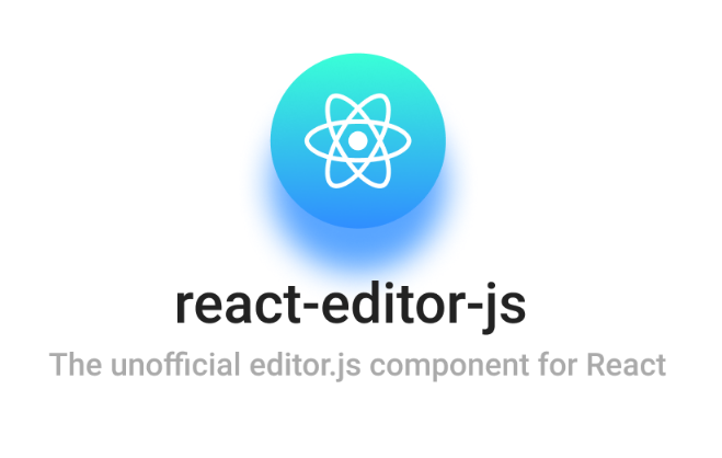 The unofficial editor-js component for React
