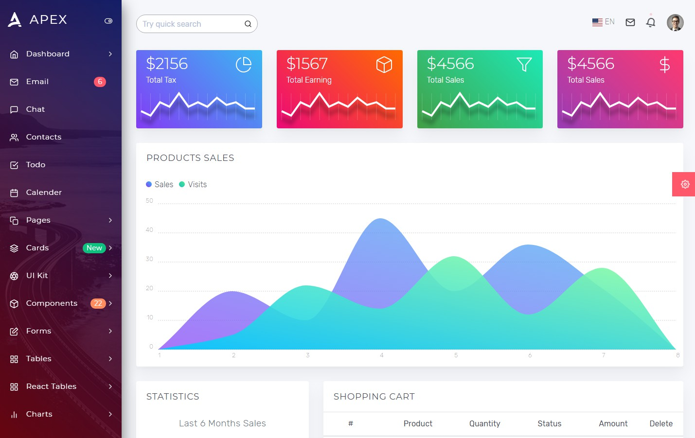 apex-react-redux-bootstrap-admin-dashboard-template
