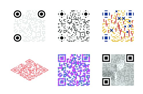 A simple web app to beautify your QR code with react.js