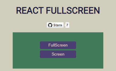 Component that performs fullscreen in DOM Elements