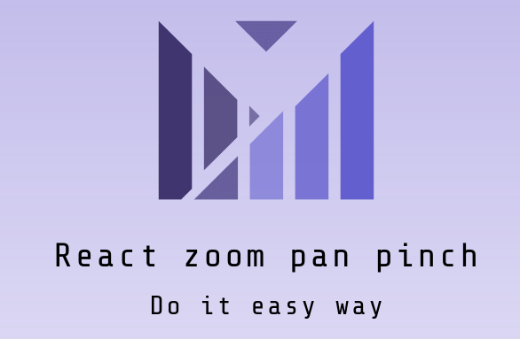 React library to support easy zoom, pan, pinch on various html dom elements